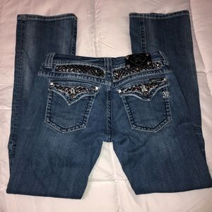 Miss Me Jeans Size 32 Boot Cut Bling